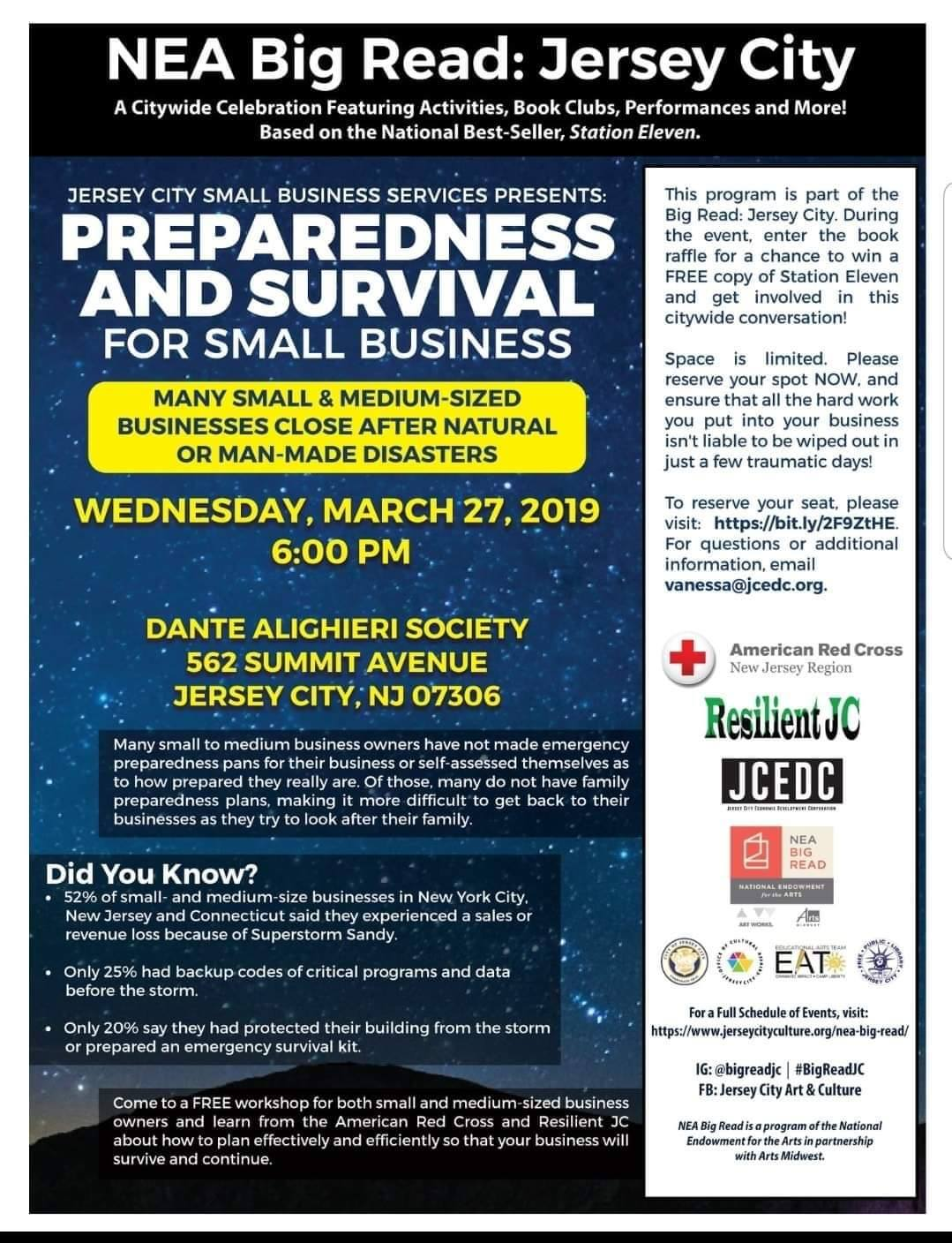Preparedness and Survival Small Business Workshop