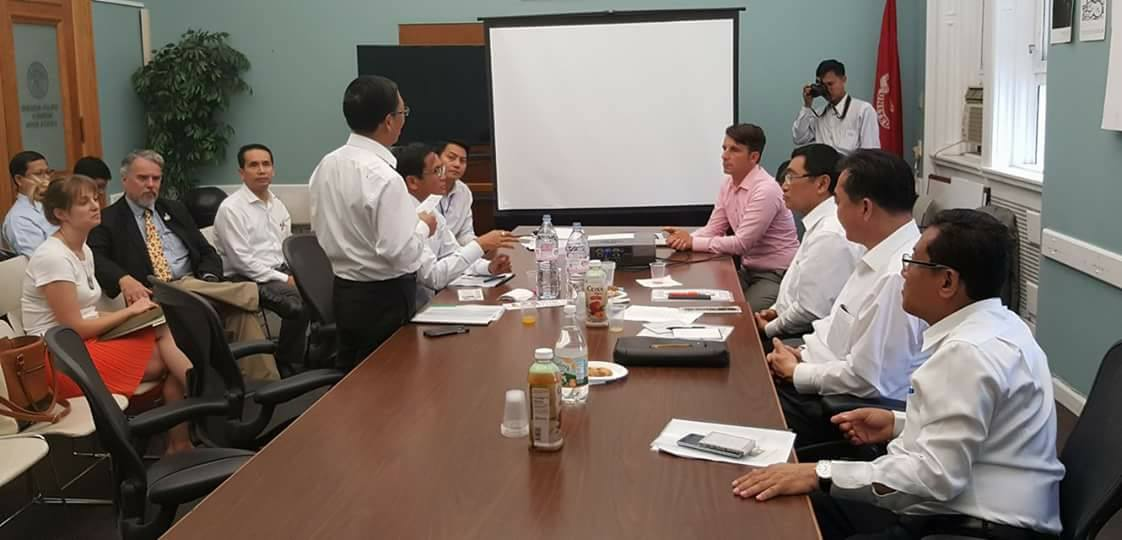 A Vice-Presidential delegation from Myanmar