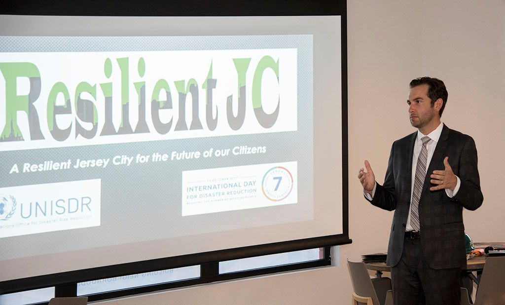 Mayor Steven Fulop at the Resilient JC Launch